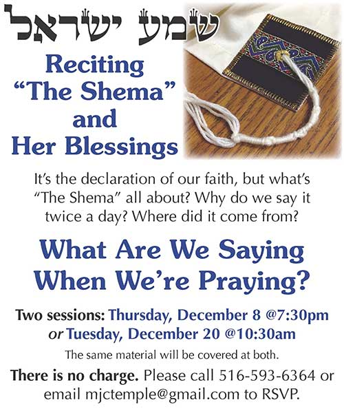 Prayer Program Shema