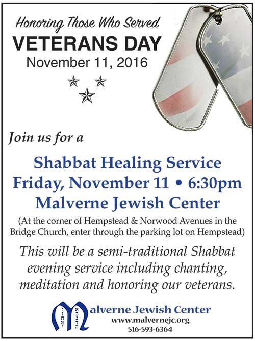 Veterans Day _ Sabbath Healing Service