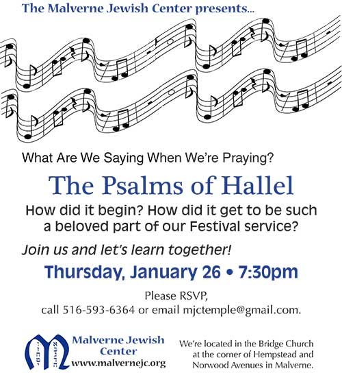Prayer Program-Hallel