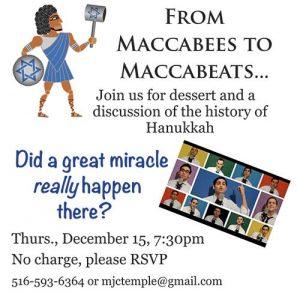 Maccabees to Maccabeats