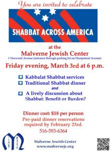 Shabbat Across America-2017