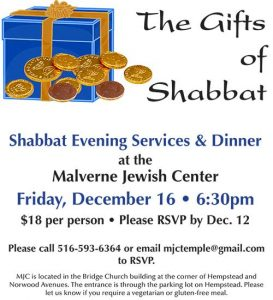 Gifts of Shabbat