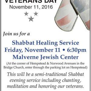 Veterans Healing Service