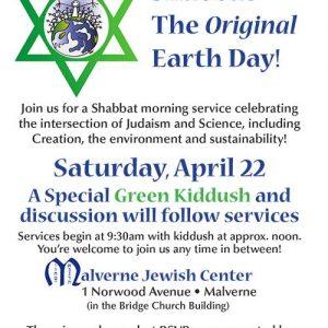 EarthDay Shabbat 2017