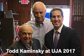 Todd Kaminsky at UJA 2017