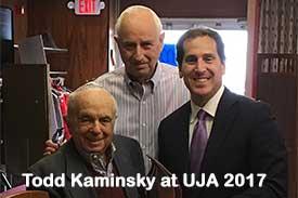 Todd Kaminsky at UJA 2017