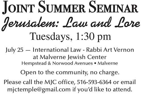 Summer Seminar 2017