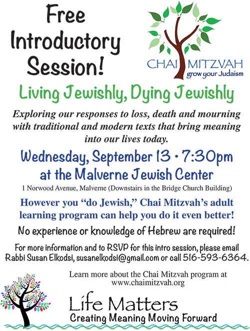 Chai Mitzvah 2017