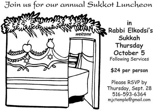 Sukkot Luncheon 2017