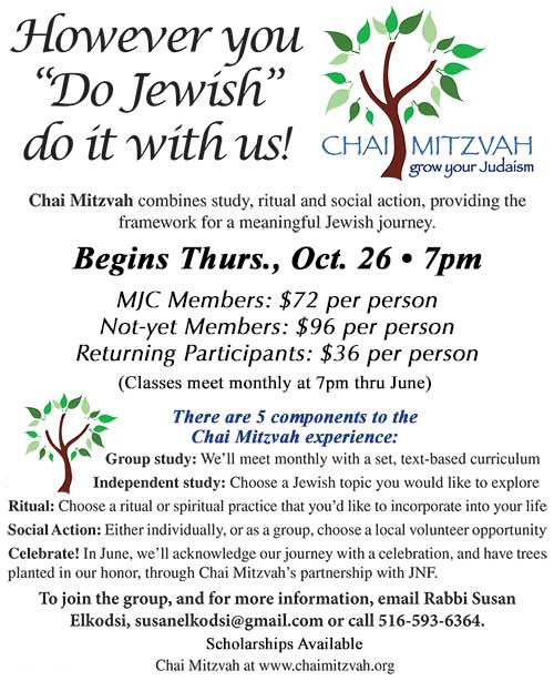 Chai Mitzvah-10-26