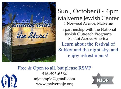 Sukkot wth the Stars