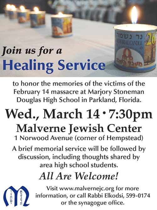 Parkland Healing Service