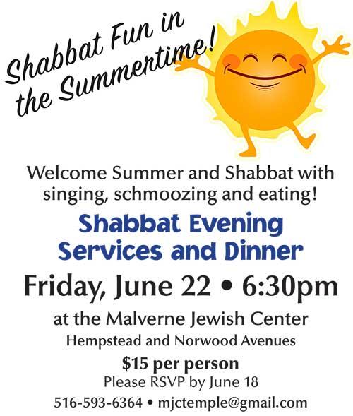 Shabbat Dinner 0618
