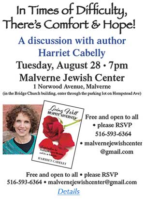 Harriet Cabelly Book Discussion