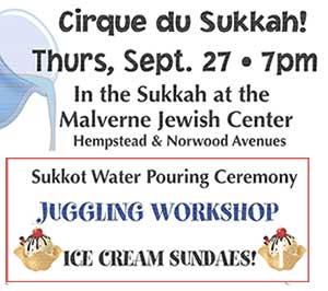 Cirque du Sukkah!