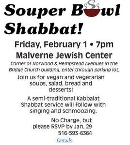 Souper Bowl Sabbath 2019