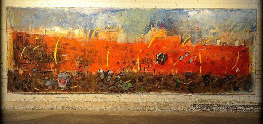 """Lech Lecha"" painting by Yehudit Englard"
