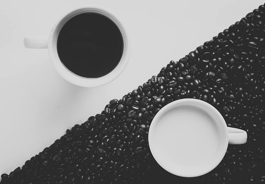 black or white, it's still coffee.